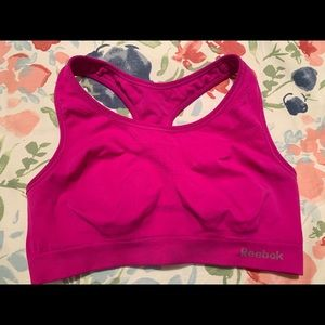 Reebok Sports Bra Size Large